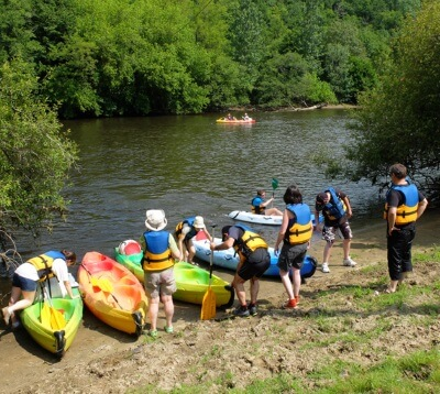 Descente de la Vienne en canoë-kayak - Saint Léonard de Noblat - Sports en eaux vives dans le Limousin