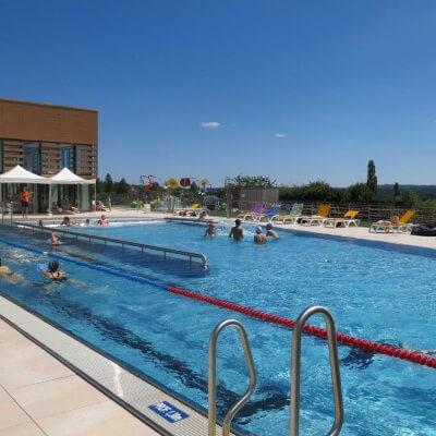 Espace Aqua'Noblat, piscine ludique et sportive à Saint-Léonard de Noblat - Crédit photo : Espace Aqua'Noblat