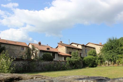 Maisons du quartier de Noblat
