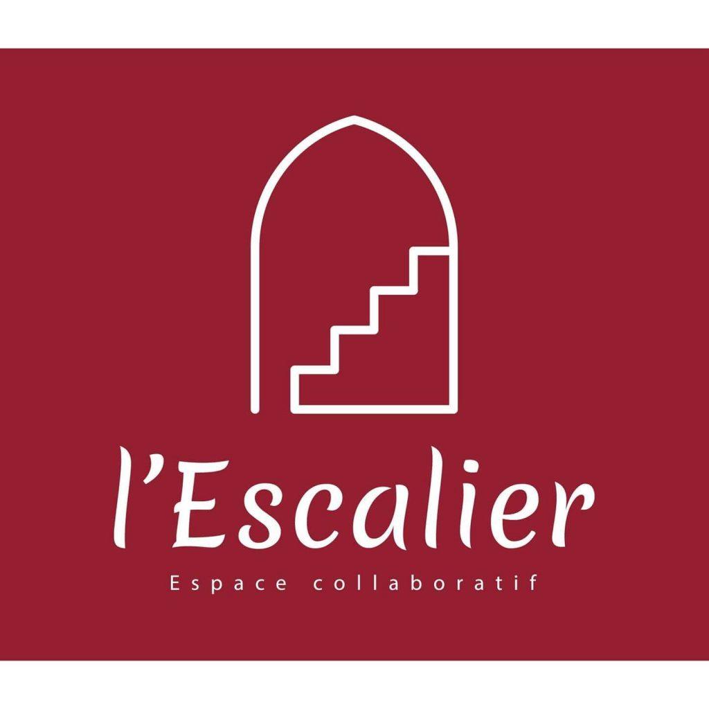 Logo de L'Escalier, tiers-lieu espace collaboratif et coworking à Saint Léonard de Noblat