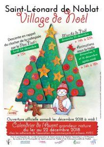 Village et Marché de Noël à Saint-Léonard de Noblat