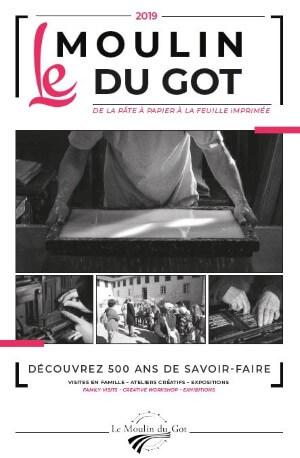 Visuel de la brochure du Moulin du Got