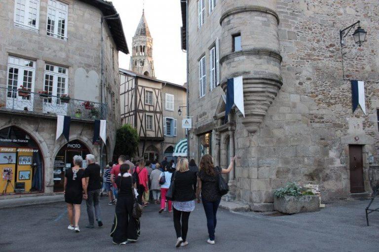 Visite guidée de Saint-Léonard de Noblat