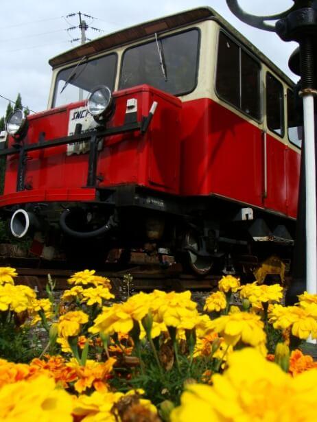 Locomotive du musée HistoRail®