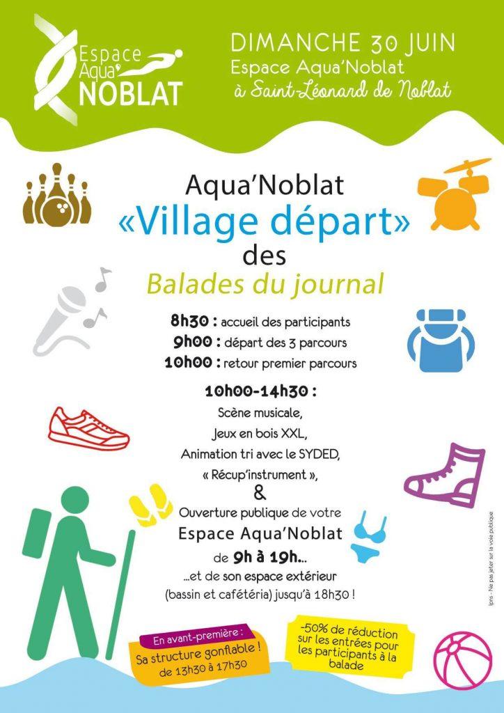 Le village des Balades du Popu
