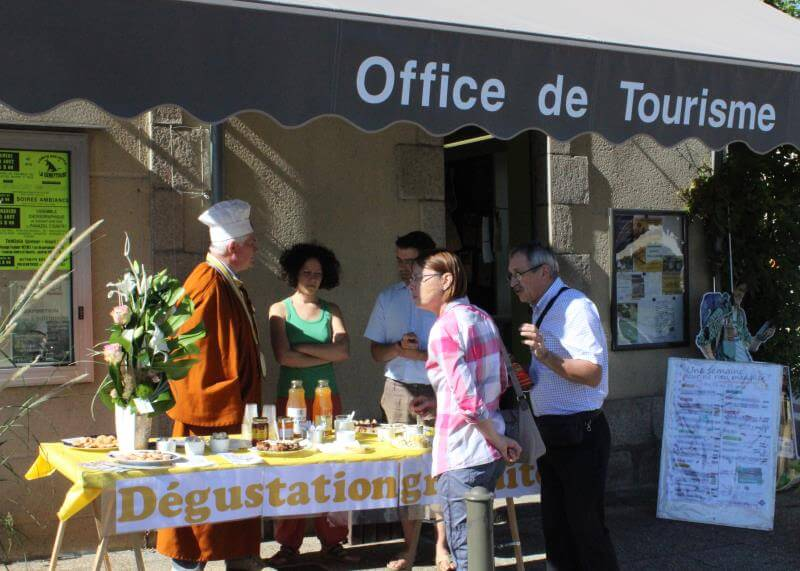 Accueils gourmands à l'office de tourisme de Noblat