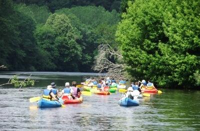 Descente de la Vienne en canoë-kayak - Saint Léonard de Noblat, Limousin