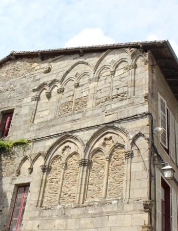 La maison des consuls à Saint Léonard de Noblat