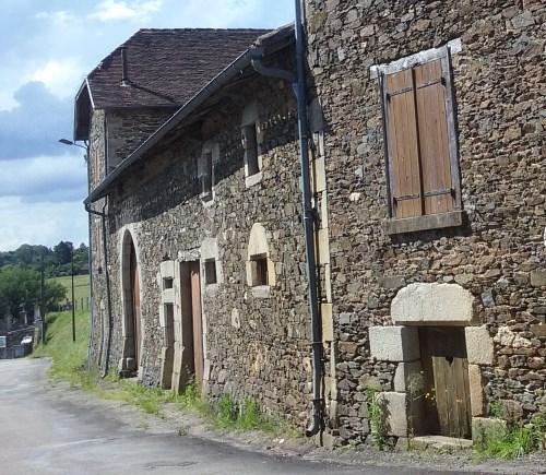 Maisons de Saint Bonnet Briance - Territoire de Noblat - Haute-Vienne - Villages du Limousin