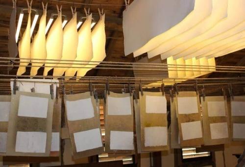 Papier fabriqué au Moulin du Got à Saint Léonard de Noblat