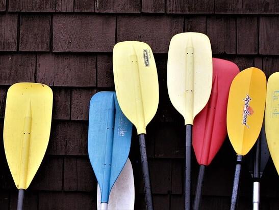 Rames de canoë-kayak © Pixabay