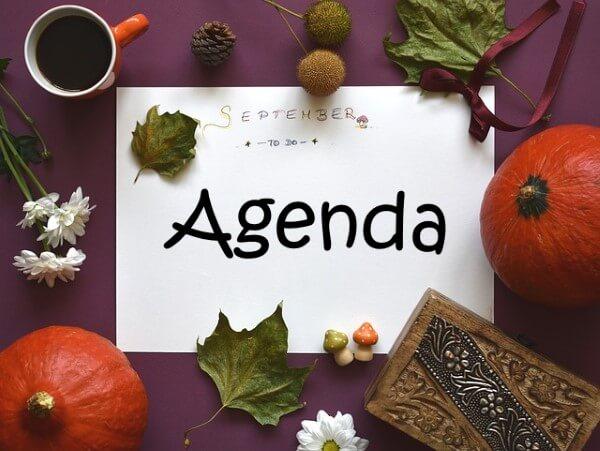 Agenda des sorties de septembre