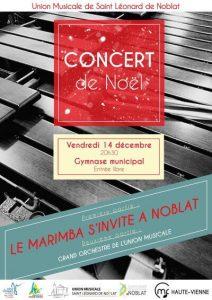 Concert de Noël de l'Union Musicale de Saint-Léonard de Noblat