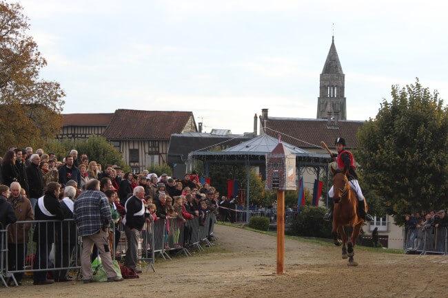 Fête de la Quintaine à Saint-Léonard de Noblat