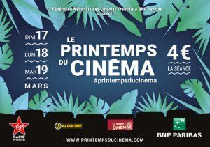 Printemps du cinéma 2019