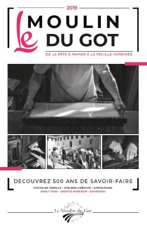 Visuel de la brochure du Moulin du Got