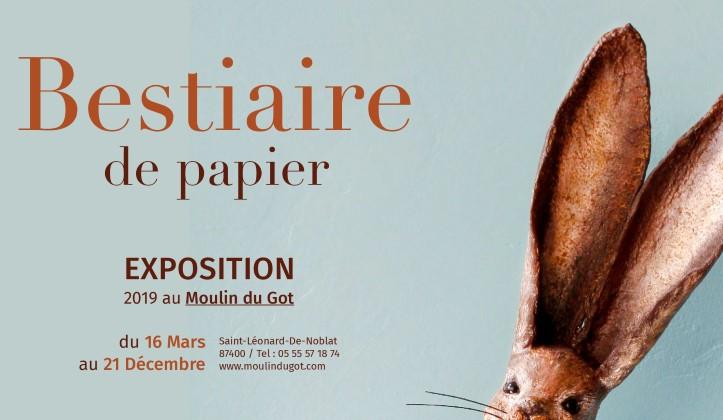 Un nouvelle exposition artistique au Moulin du Got qui met à l'honneur nos amies les bêtes