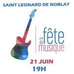 Fête de la musique à Saint-Léonard de Noblat