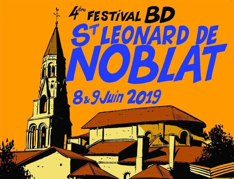 Festival de bande dessinée à Saint-Léonard de Noblat