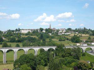 Le viaduc de Saint-Léonard de Noblat