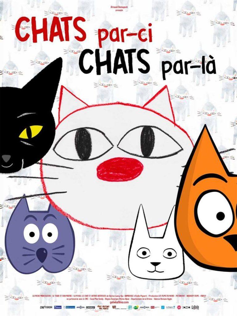 Chats par-ci chats par-là