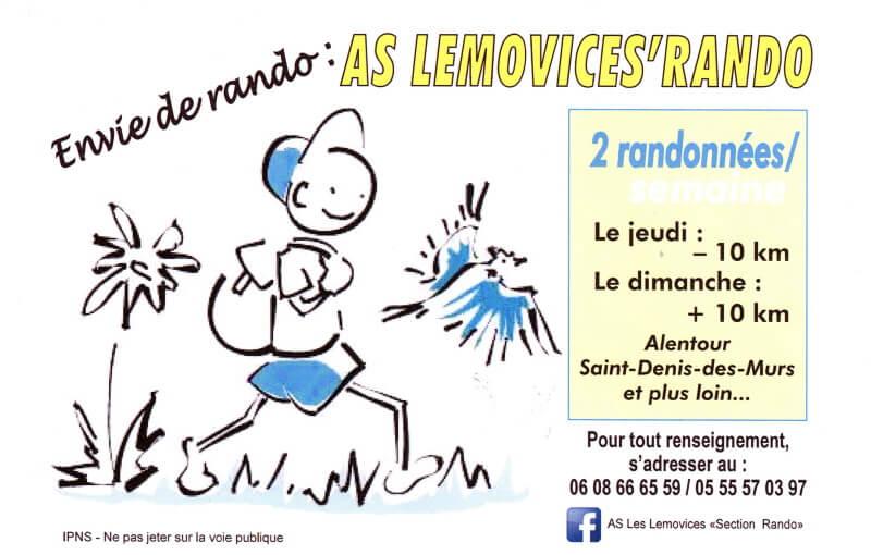 AS Lemovices Rando