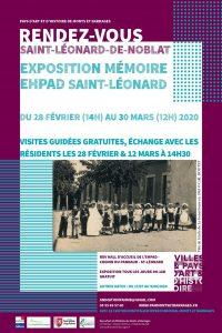 Affiche Exposition Mémoire