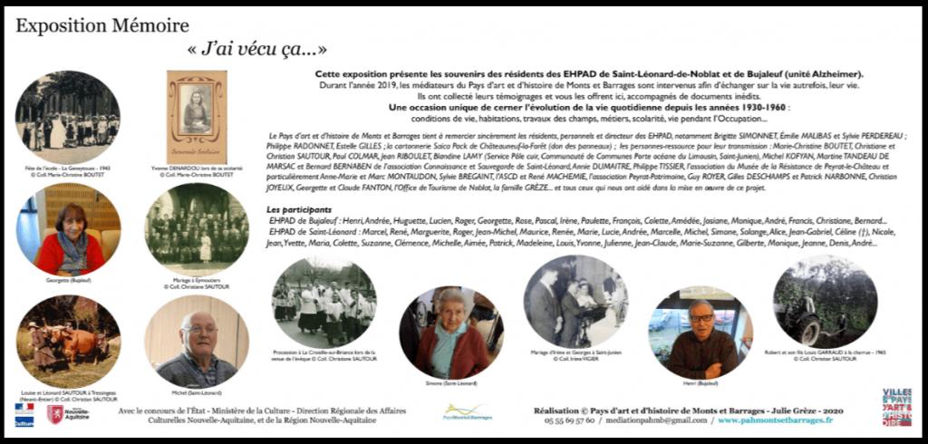 Exposition Mémoire en ligne