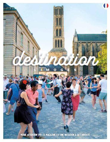 Visuel du guide Destination Limoges 2020
