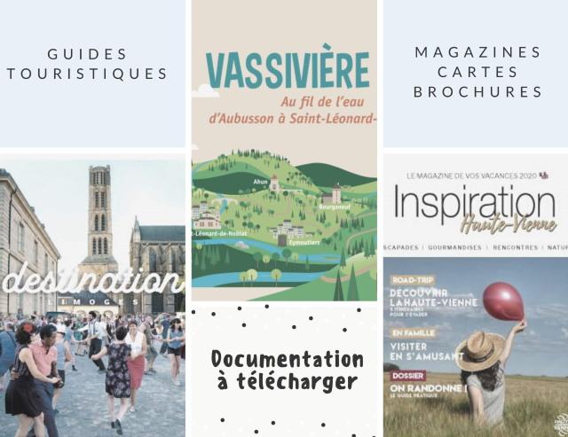 Kit de documentation touristique