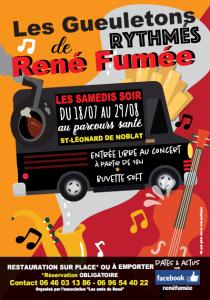Les gueuletons rythmés de René Fumée