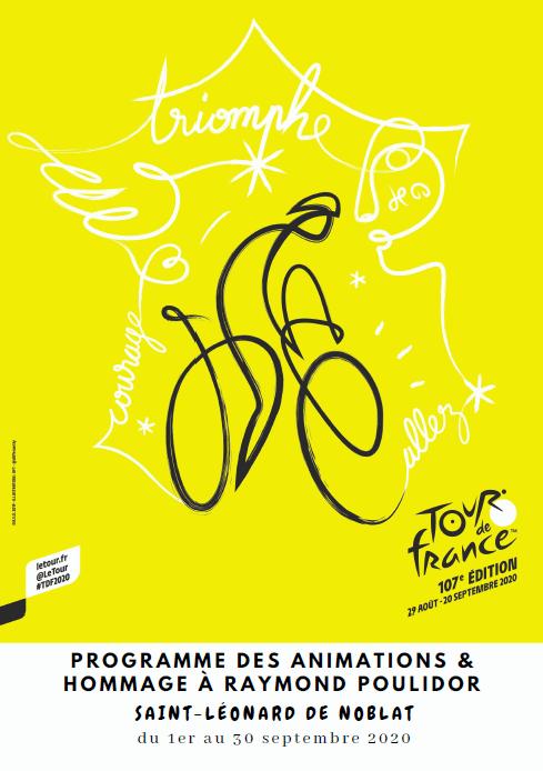Passage du Tour de France et hommage à Raymond POULIDOR