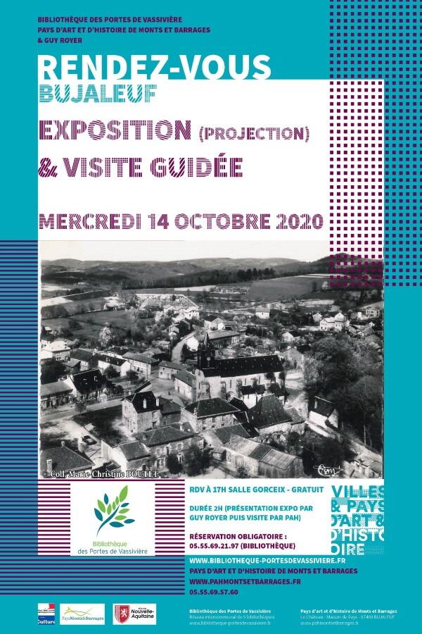 Expo et visite de Bujaleuf