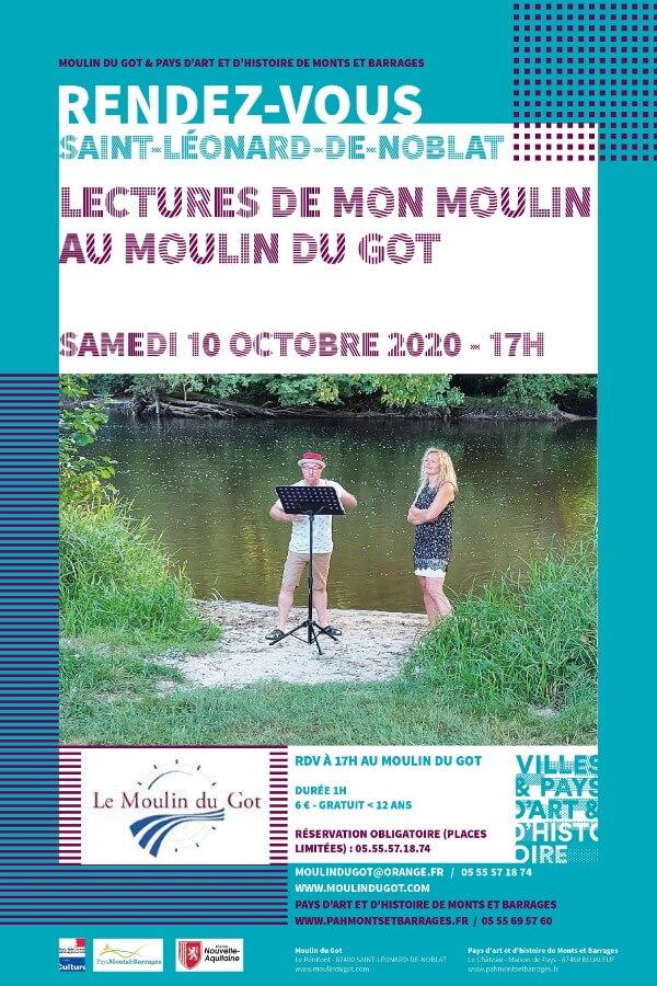 Lectures de mon Moulin